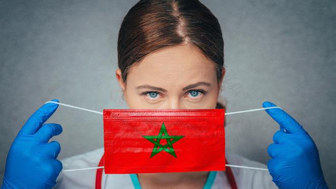 Soignante marocaine (Image d'illustration)