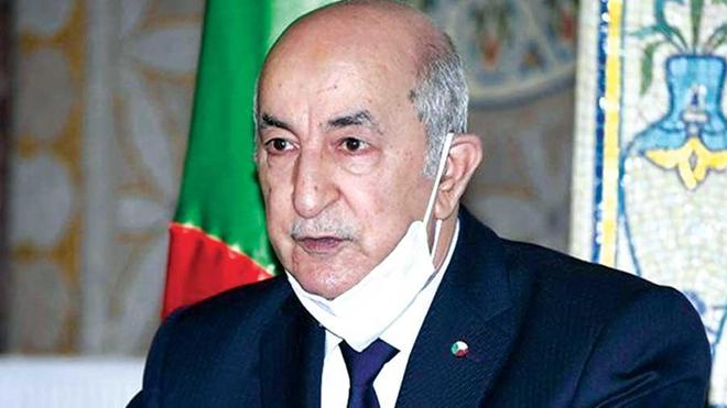 Le président algérien a achevé son protocole de soins (photo d'illustration)