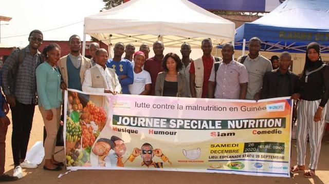En Guinée,la société civile sensibilise sur les bonnes pratiques nutritionnelles !