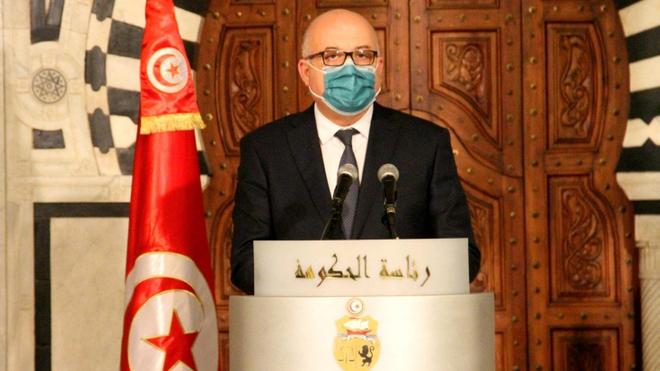 Des manifestants réclament le limogeage du ministre de la Santé, Faouzi Mehdi (photo d'illustration)