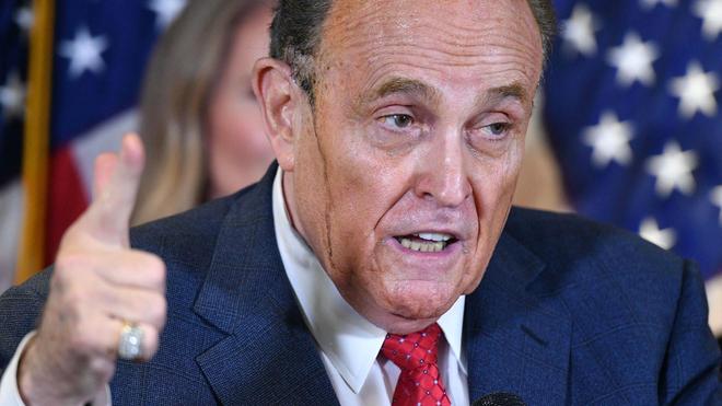Rudy Giuliani a du être hospitalisé (Image d'illustration)