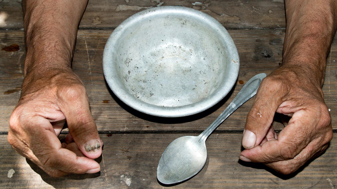 La kéré oblige les plus démunis à manger de l'argile blanche (image d'illustration)