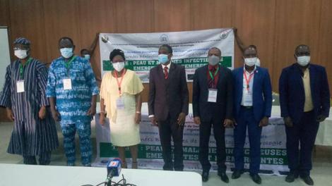 Dermatologie : au Bénin, les experts s'organisent pour lutter contre les maladies infectieuses