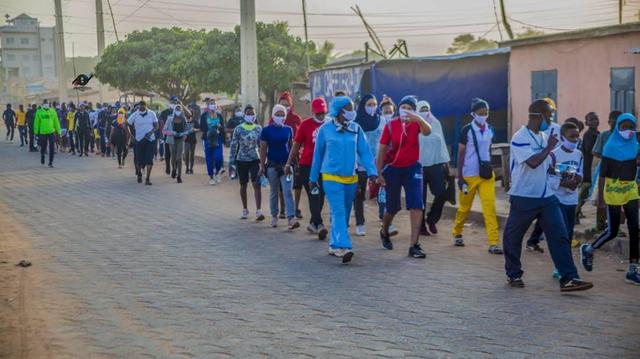 Au Bénin, cardiologues et ONG organisent la 9ème édition de la marche du coeur