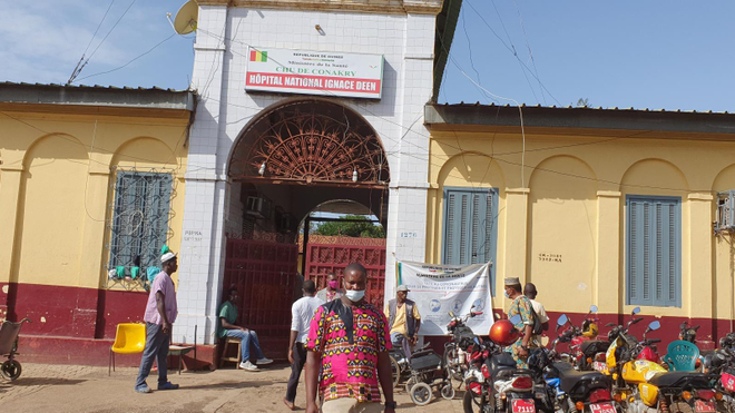 Le CHU de Conakry s'efforces de maintenir les services essentiels malgré la Covid-19