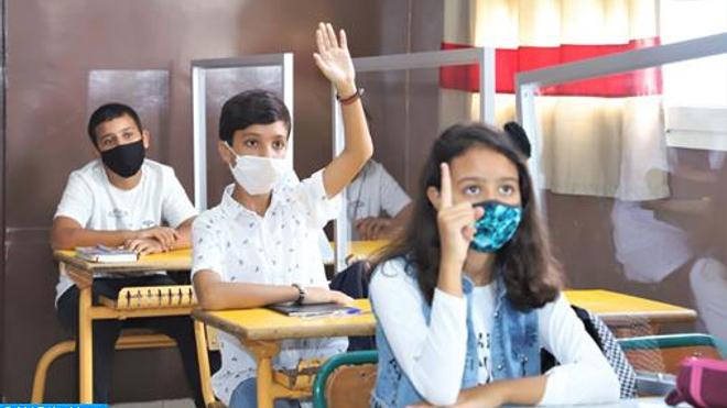 A l'ère de la Covid-19, le Maroc adopte un protocole sanitaire pour assurer la santé de ses élèves (photo d'illustration)