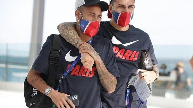 Neymar Jr et Leandro Paredes auraient été testés positifs au coronavirus (photo d'illustration)