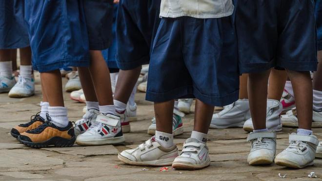 Des écoliers en RDC (photo d'illustration)