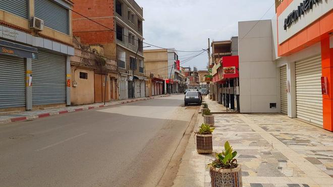 Les rues de Blida n'ont jamais été aussi dépeuplées