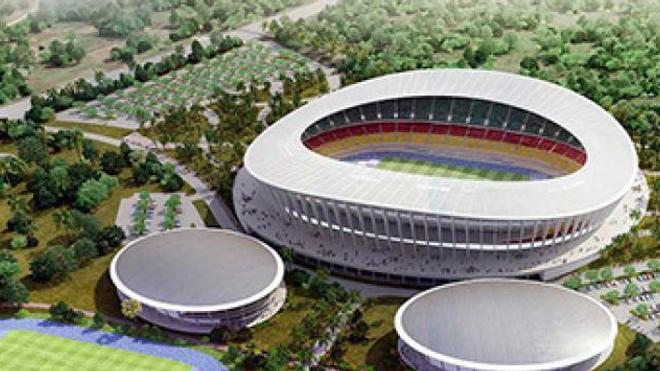 Le stade Japoma de Douala devait abriter la finale de la Ligue des Champions 2019-2020