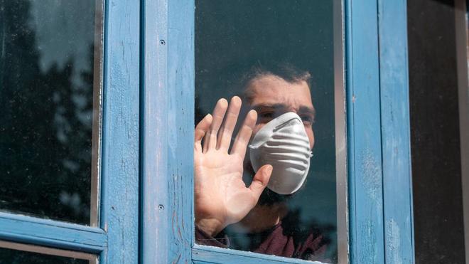 Au Maghreb, des millions de personnes sont déjà confinées chez elles (Illustration)