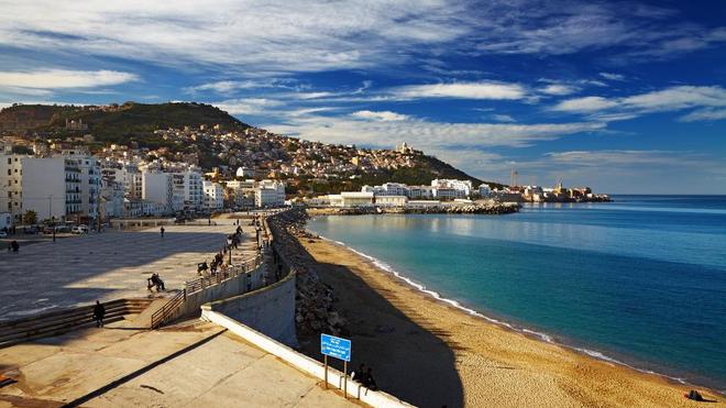 Une plage à Alger (photo d'ilustration)