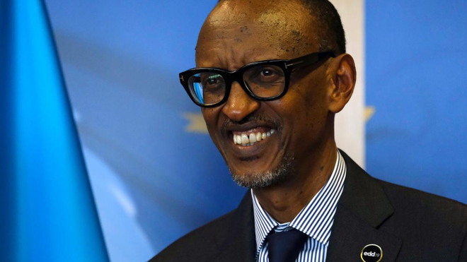 Paul Kagamé, lors des Journées européennes de développement en 2019, à Bruxelles
